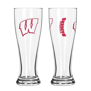 Wisconsin Badgers NCAA 2-Pack Gameday Pilsner Set
