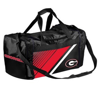 Georgia Bulldogs NCAA Border Stripe Duffle Bag