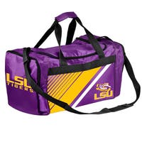 Louisiana State Tigers NCAA Border Stripe Duffle Bag