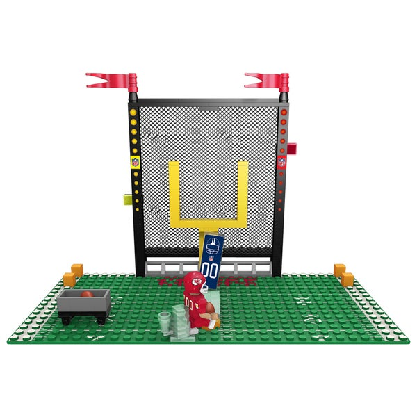 716a88f7a9cce4 Shop Kansas City Chiefs NFL End Zone Buildable Playset - Free ...