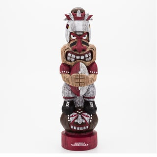 Arizona Cardinals NFL Tiki Totem