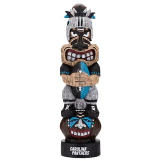 Carolina Panthers NFL Tiki Totem