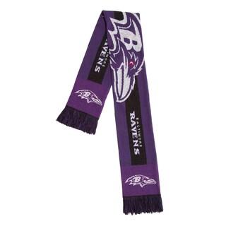 Baltimore Ravens NFL Adult Big Logo Scarf