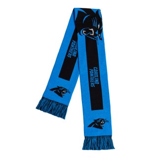 Carolina Panthers NFL Adult Big Logo Scarf