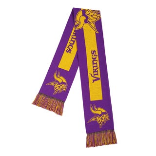 Minnesota Vikings NFL Adult Big Logo Scarf