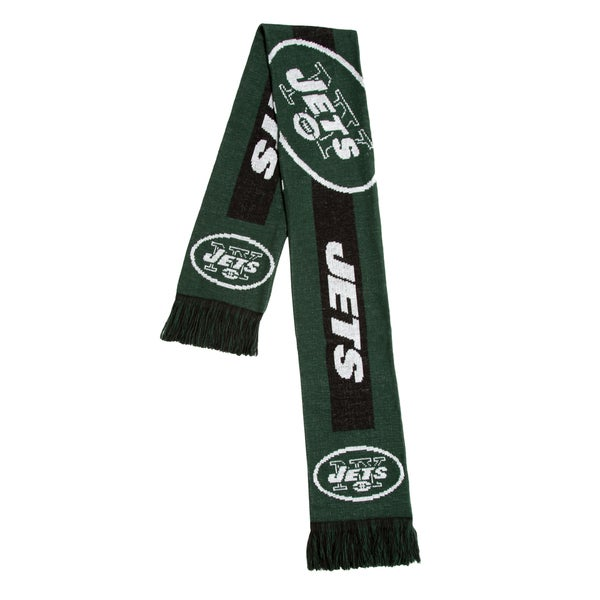 b39a09f5fe1e1b Shop New York Jets NFL Adult Big Logo Scarf - Free Shipping On Orders Over  $45 - Overstock - 18011847