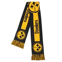 Pittsburgh Steelers NFL Adult Big Logo Scarf