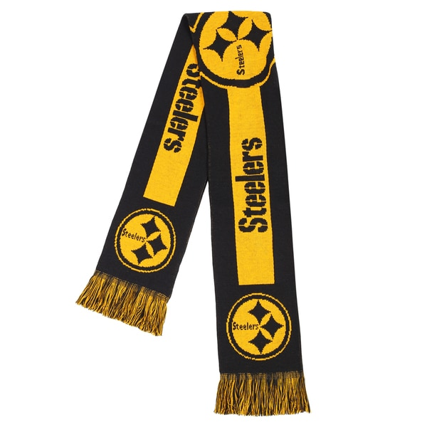c8091c9a71ea40 Shop Pittsburgh Steelers NFL Adult Big Logo Scarf - Free Shipping On Orders  Over $45 - Overstock - 18011851