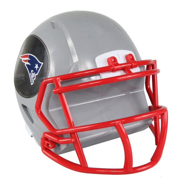 a549db1311072f Shop New England Patriots NFL Mini Helmet Bank - Free Shipping On Orders  Over $45 - Overstock - 18011878