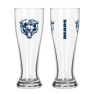 Chicago Bears NFL 2-Pack Gameday Pilsner Set