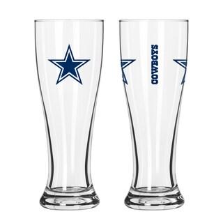 Dallas Cowboys NFL 2-Pack Gameday Pilsner Set