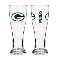 Green Bay Packers NFL 2-Pack Gameday Pilsner Set