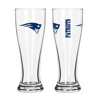 New England Patriots NFL 2-Pack Gameday Pilsner Set