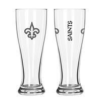 New Orleans Saints NFL 2-Pack Gameday Pilsner Set