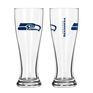 Seattle Seahawks NFL 2-Pack Gameday Pilsner Set