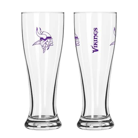 Minnesota Vikings NFL 2-Pack Gameday Pilsner Set