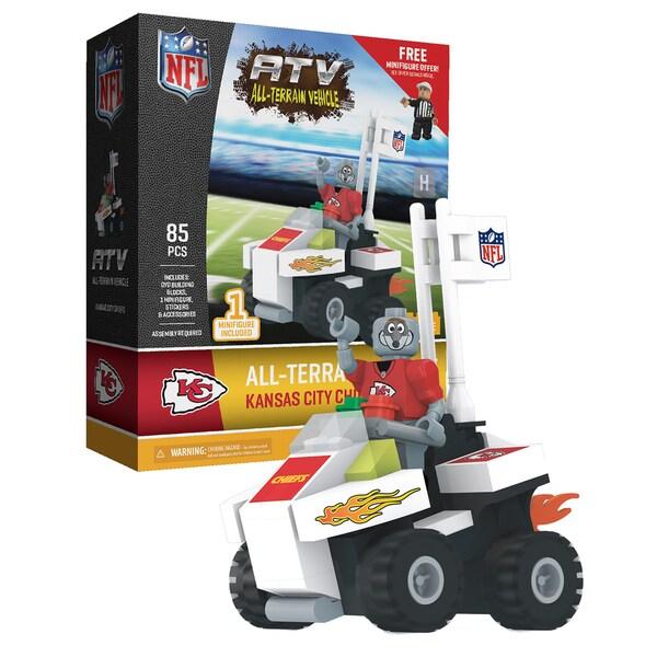 Kansas City Chiefs NFL 4 Wheel ATV with Mascot