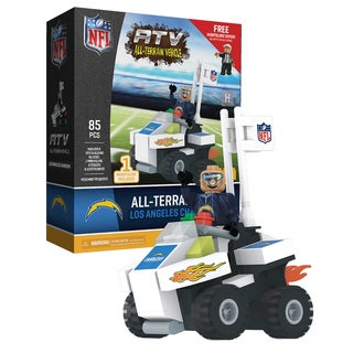 Los Angeles Chargers NFL 4 Wheel ATV with Mascot
