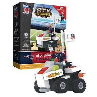 New England Patriots NFL 4 Wheel ATV with Mascot
