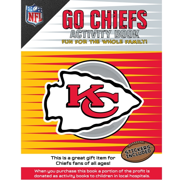 5a0f3ba5 Shop In the Sports Zone The Go Chiefs Activity Book - Free Shipping ...