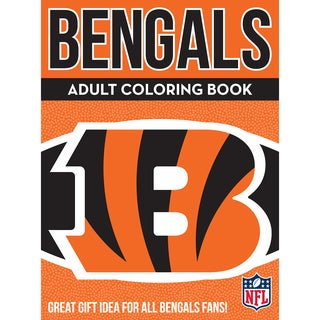Cincinnati Bengals NFL Adult Coloring Book