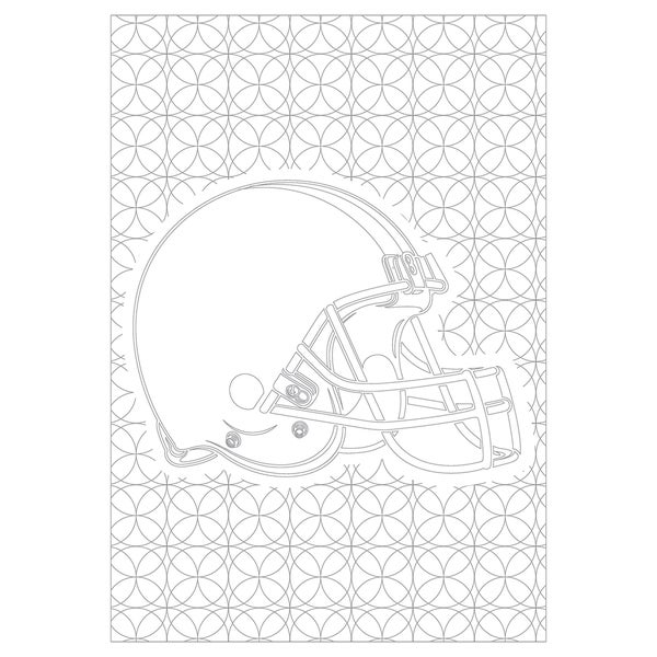 Cleveland Browns NFL Adult Coloring Book - Overstock - 18012007