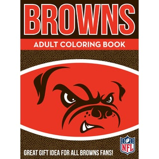 Cleveland Browns NFL Adult Coloring Book