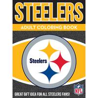 Pittsburgh Steelers NFL Adult Coloring Book