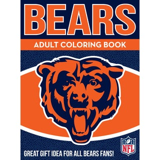 Chicago Bears NFL Adult Coloring Book