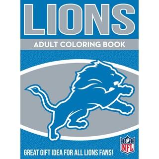 Detroit Lions NFL Adult Coloring Book