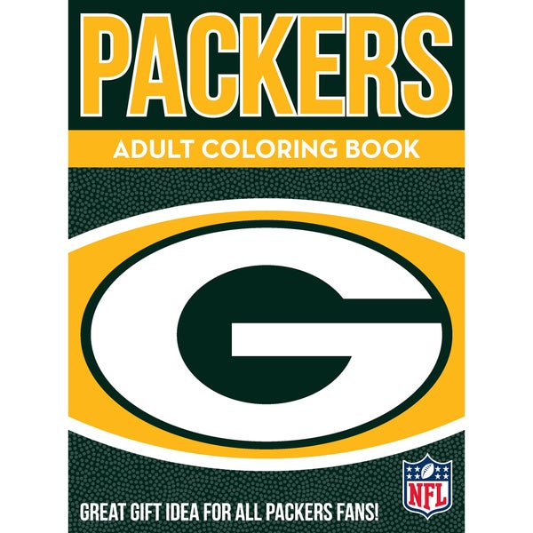 Green Bay Packers NFL Adult Coloring Book  sc 1 st  Overstock.com & Shop Green Bay Packers NFL Adult Coloring Book - Free Shipping On ...
