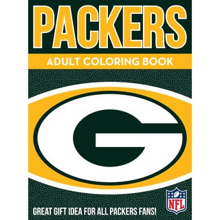 Green Bay Packers NFL Adult Coloring Book