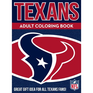 Houston Texans NFL Adult Coloring Book