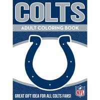 Indianapolis Colts NFL Adult Coloring Book