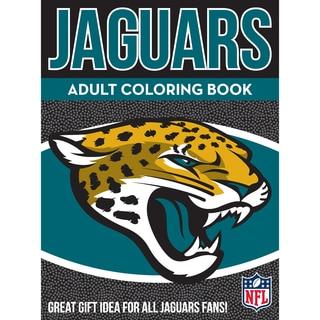 Jacksonville Jaguars NFL Adult Coloring Book