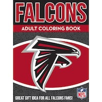 Atlanta Falcons NFL Adult Coloring Book