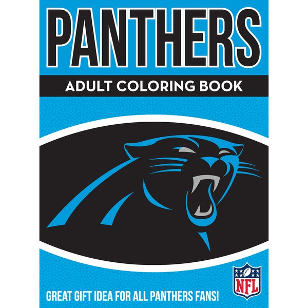 new arrival a6f7c 3e447 Shop Carolina Panthers NFL Adult Coloring Book - Free ...