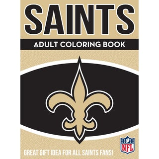 New Orleans Saints NFL Adult Coloring Book