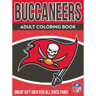 Tampa Bay Buccaneers NFL Adult Coloring Book