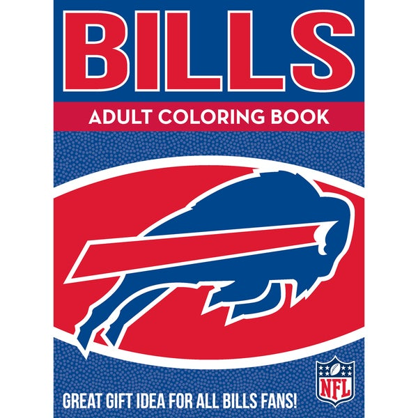 c1429a66 Shop Buffalo Bills NFL Adult Coloring Book - Free Shipping On Orders ...
