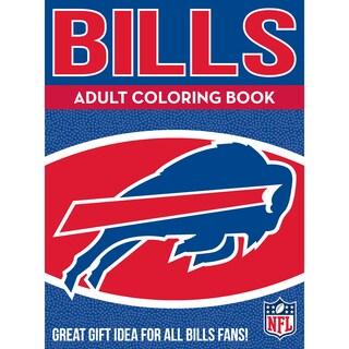 Buffalo Bills NFL Adult Coloring Book