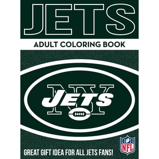 New York Jets NFL Adult Coloring Book