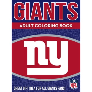 New York Giants NFL Adult Coloring Book