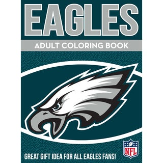 Philadelphia Eagles NFL Adult Coloring Book