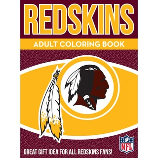 Washington Redskins NFL Adult Coloring Book