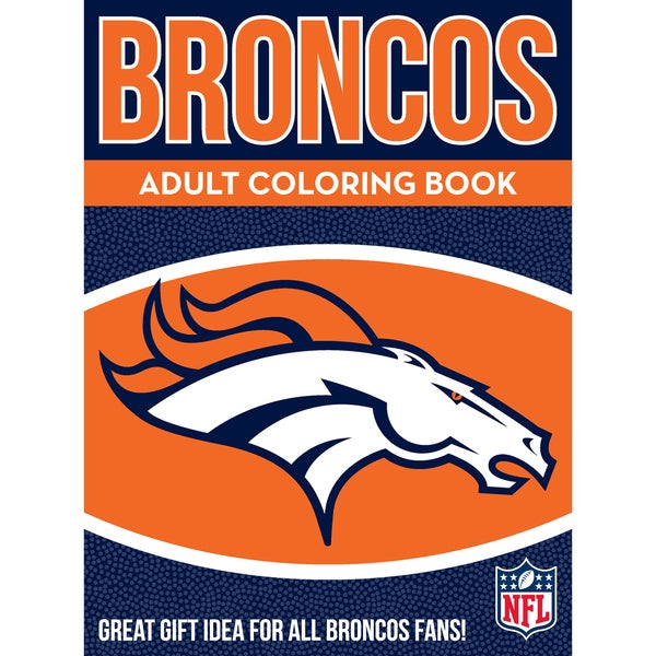 Denver Broncos NFL Adult Coloring Book