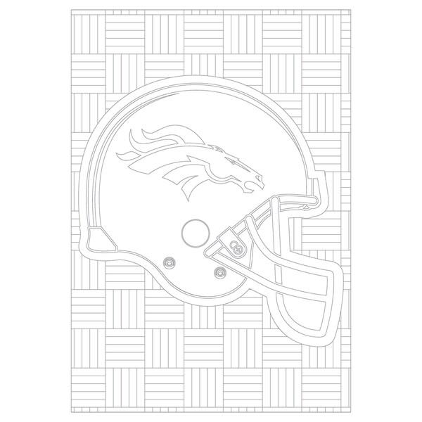 Shop Black Friday Deals On Denver Broncos NFL Adult Coloring Book -  Overstock - 18012031