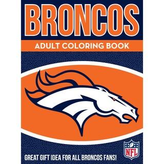Denver Broncos NFL Adult Coloring Book