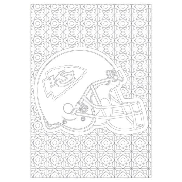 Kansas City Chiefs NFL Adult Coloring Book