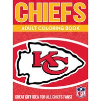 Kansas City Chiefs NFL Adult Coloring Book